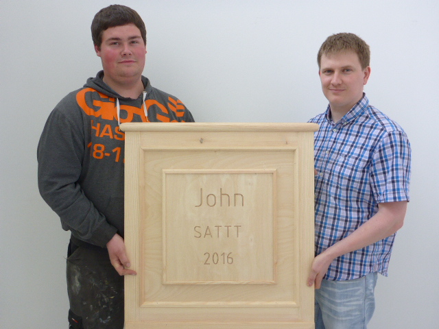 John's Carpentry Skills Recognised Nationally